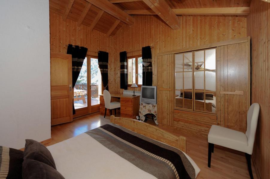 Vacances en montagne Chalet 7 pièces 12 personnes (lelys) - Chalets les Varcins - Saint Martin de Belleville - Chambre
