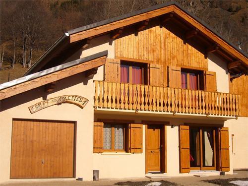Vacances en montagne Chalets Violettes - Saint Martin de Belleville - Extérieur été