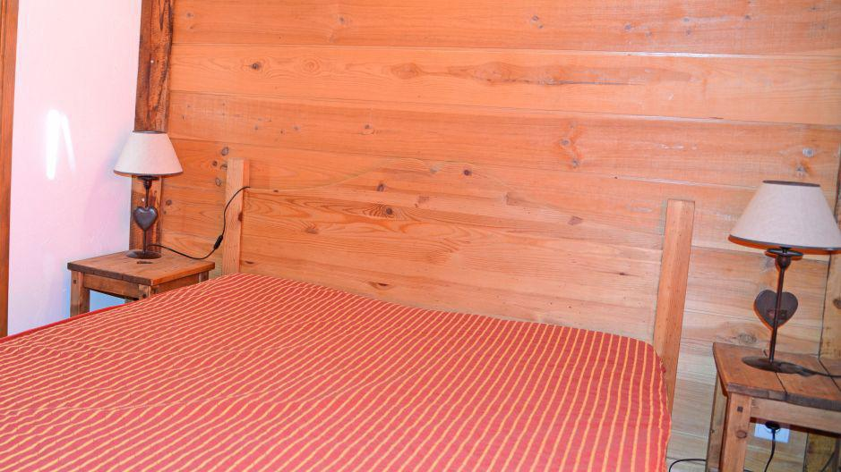 Holiday in mountain resort Chalets Violettes - Saint Martin de Belleville - Double bed