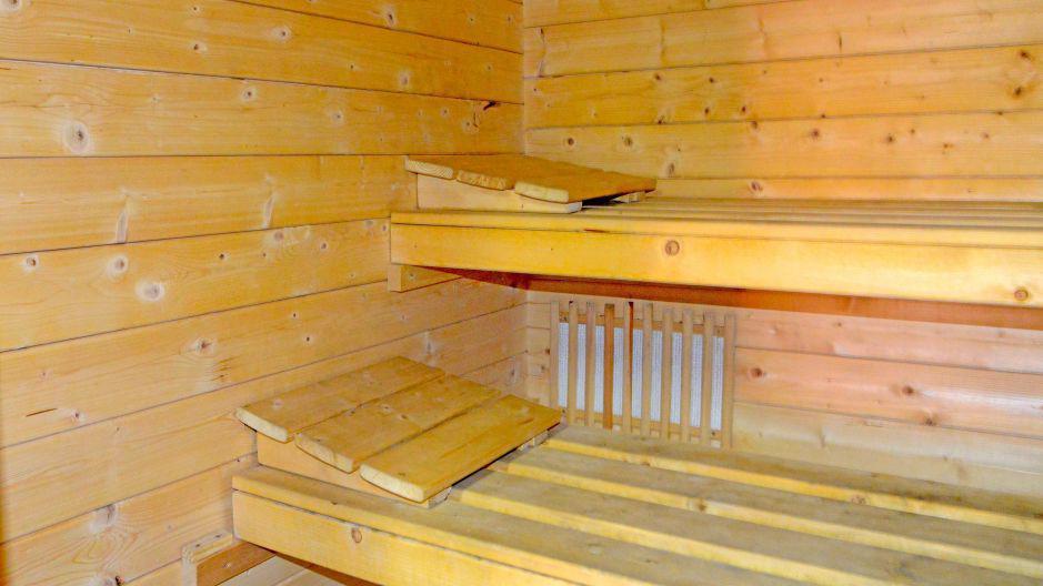 Vacances en montagne Chalets Violettes - Saint Martin de Belleville - Sauna