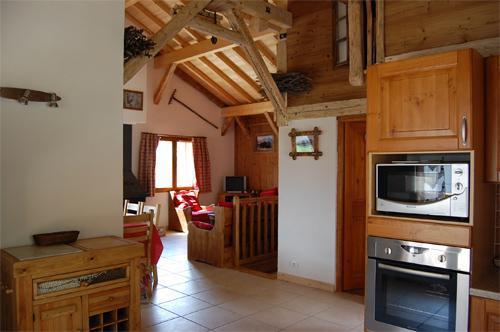 Vacances en montagne Chalets Violettes - Saint Martin de Belleville - Séjour