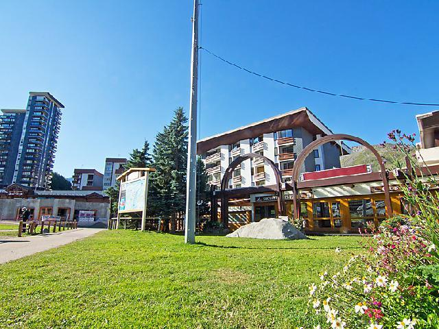 Holiday in mountain resort 2 room apartment 5 people (1) - Chanteneige la Croisette - Les Menuires - Summer outside