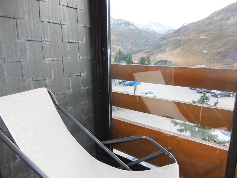 Vakantie in de bergen Appartement 2 kamers 5 personen (1) - Chanteneige la Croisette - Les Menuires - Balkon