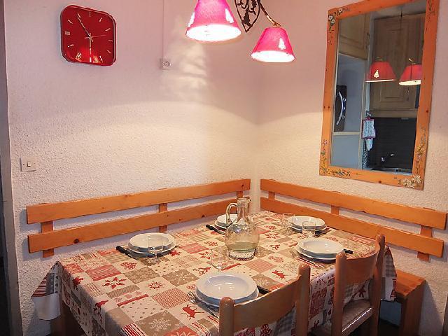 Vakantie in de bergen Appartement 2 kamers 5 personen (1) - Chanteneige la Croisette - Les Menuires - Eethoek