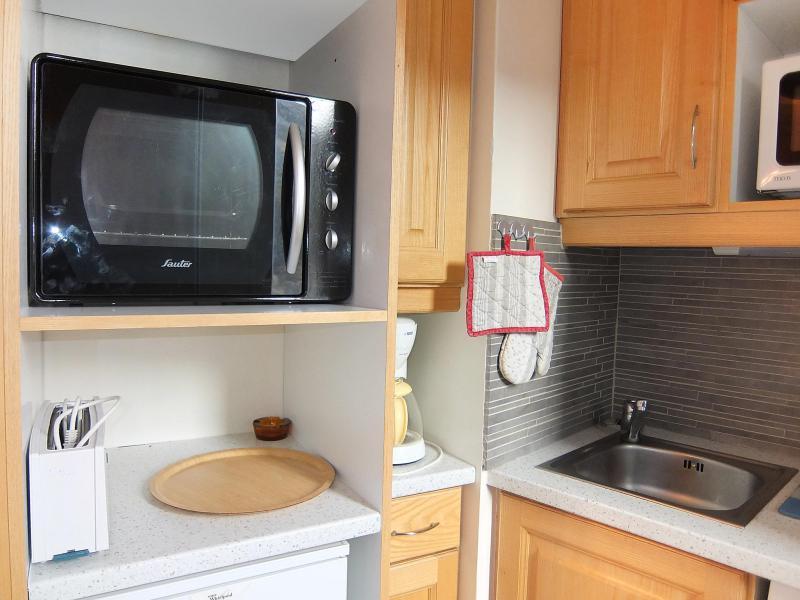Vakantie in de bergen Appartement 2 kamers 5 personen (1) - Chanteneige la Croisette - Les Menuires - Oven