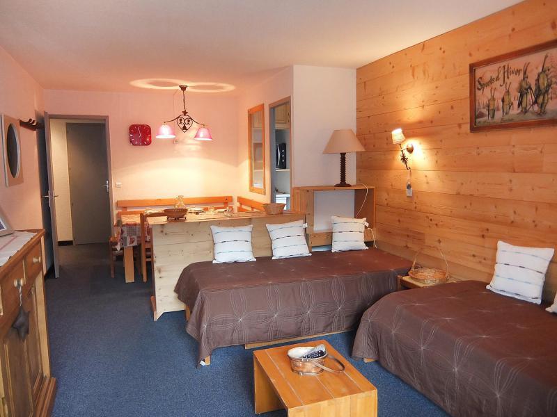 Vakantie in de bergen Appartement 2 kamers 5 personen (1) - Chanteneige la Croisette - Les Menuires - Sofa