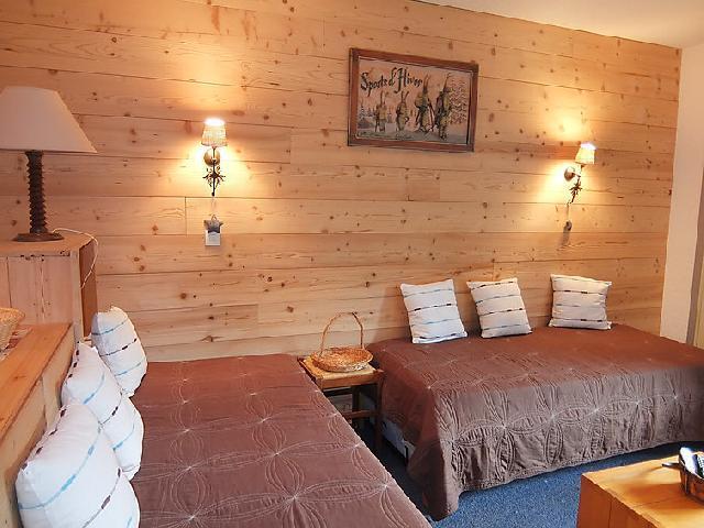 Vakantie in de bergen Appartement 2 kamers 5 personen (1) - Chanteneige la Croisette - Les Menuires - Woonkamer