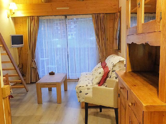 Vakantie in de bergen Appartement 1 kamers 4 personen (15) - Clos du Savoy - Chamonix - Verblijf