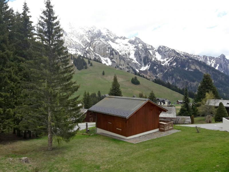 Holiday in mountain resort 2 room apartment 4 people (7) - Combes Blanche 1 & 2 - La Clusaz - Summer outside