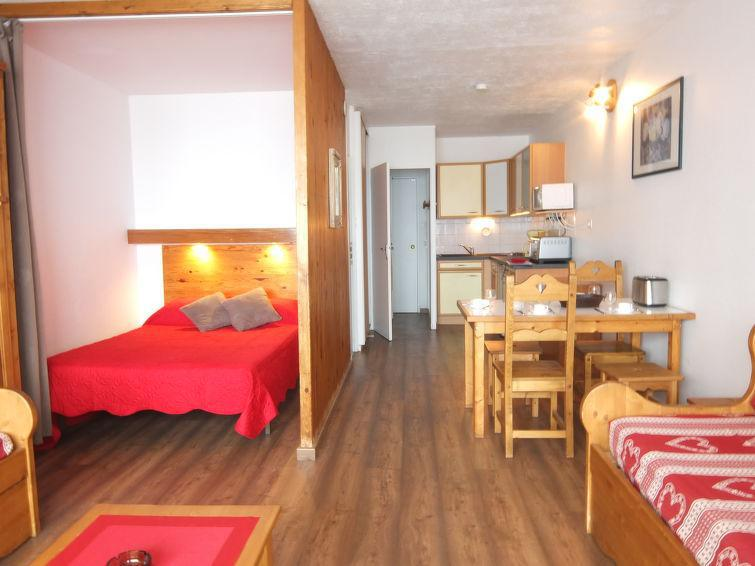 Holiday in mountain resort 1 room apartment 4 people (2) - Cosmos - Le Corbier - Summer outside