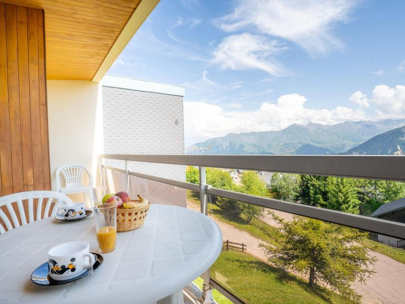 Аренда на лыжном курорте Апартаменты 1 комнат 4 чел. (2) - Côte Louve - La Toussuire - летом под открытым небом