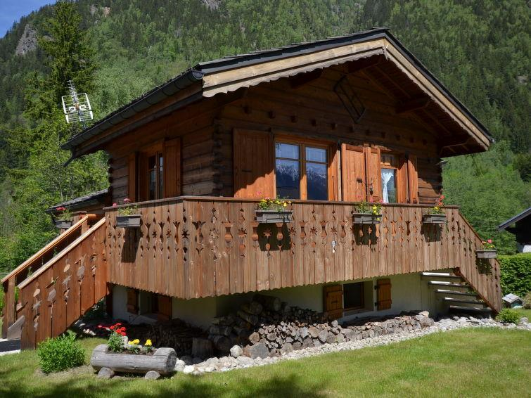 Holiday in mountain resort 1 room chalet 2 people (1) - De Thierry - Chamonix - Summer outside