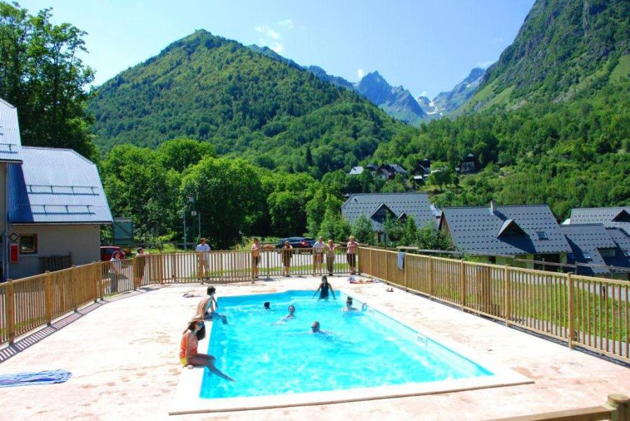 Location au ski Domaine la Perrière - Saint Colomban des Villards - Extérieur été