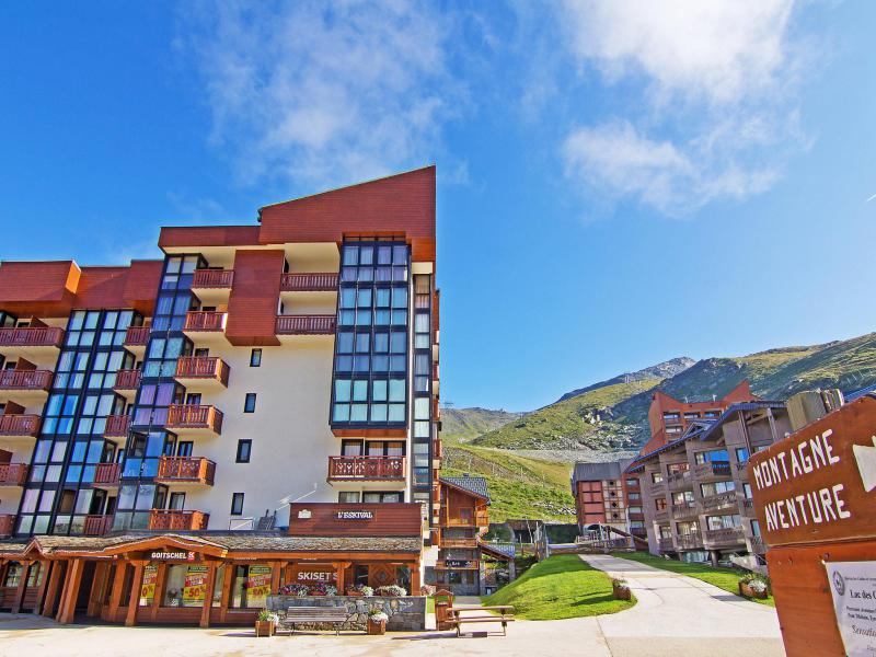 Holiday in mountain resort Eskival - Val Thorens - Summer outside