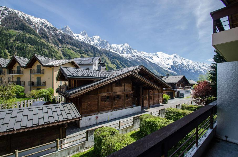 Rent in ski resort 2 room apartment 4 people (FEDORA) - Flegere et Golf - Chamonix - Summer outside