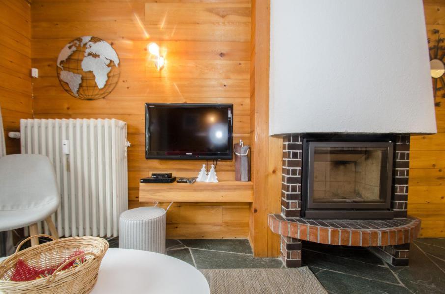 Wakacje w górach Apartament 2 pokojowy 4 osób (FEDORA) - Flegere et Golf - Chamonix - Kominkiem