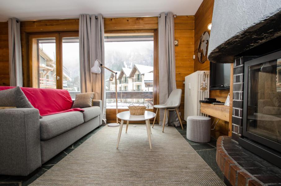 Wakacje w górach Apartament 2 pokojowy 4 osób (FEDORA) - Flegere et Golf - Chamonix - Sofą