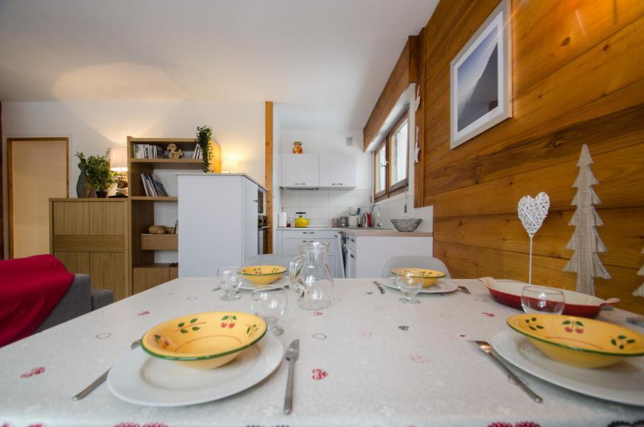 Wakacje w górach Apartament 2 pokojowy 4 osób (FEDORA) - Flegere et Golf - Chamonix - Stołem