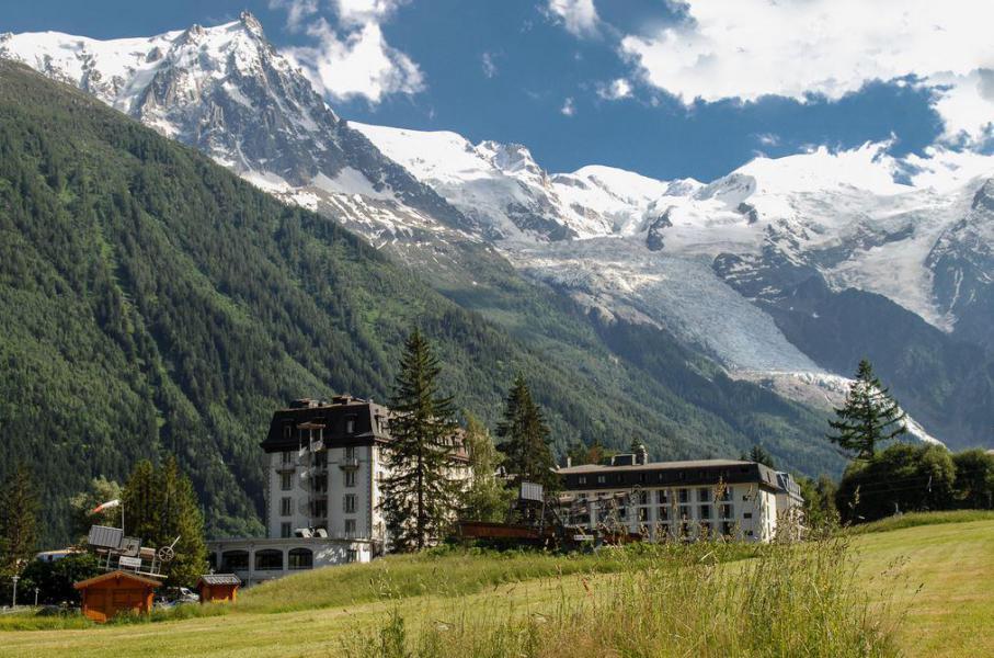 Location au ski Folie Douce Hôtel - Chamonix - Extérieur été