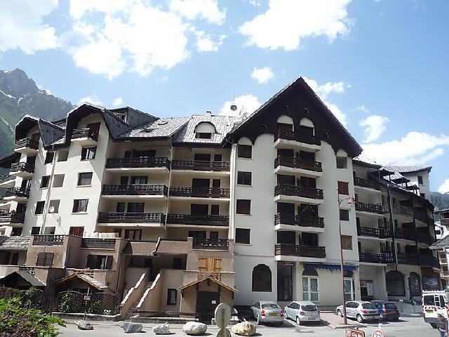 Vakantie in de bergen Appartement 1 kamers 2 personen (5) - Gentiane - Chamonix - Buiten zomer