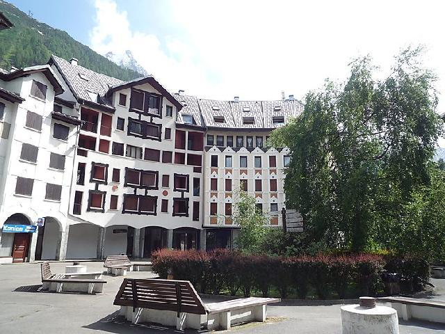 Holiday in mountain resort 1 room apartment 2 people (5) - Gentiane - Chamonix - Summer outside