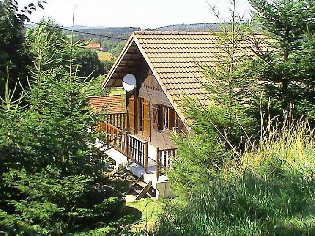 Holiday in mountain resort 2 room chalet 6 people (1) - Gerbépal - Gérardmer - Summer outside