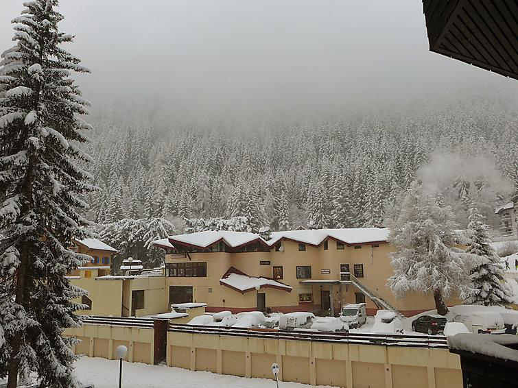 Holiday in mountain resort 1 room apartment 4 people (1) - Grand Roc - Chamonix - Accommodation