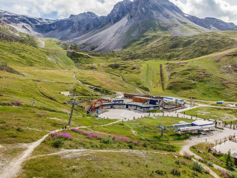 Vacaciones en montaña Apartamento 3 piezas para 8 personas (2) - Grand Roc - Tignes - Verano