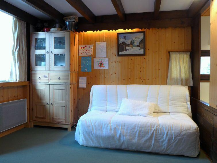 Vakantie in de bergen Appartement 1 kamers 4 personen (4) - Grand Roc - Chamonix - Verblijf