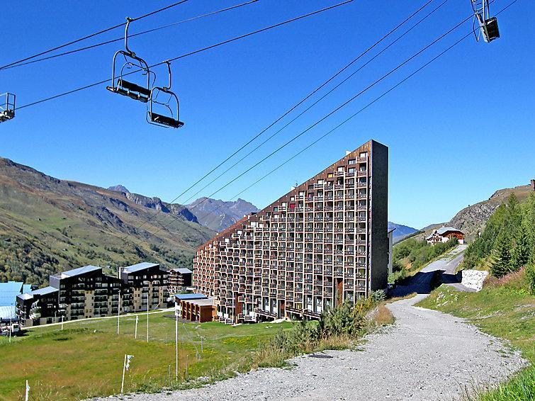 Holiday in mountain resort Grande Masse - Les Menuires - Summer outside