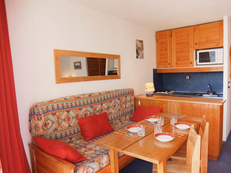 Holiday in mountain resort 1 room apartment 4 people (1) - Grande Masse - Les Menuires - Summer outside