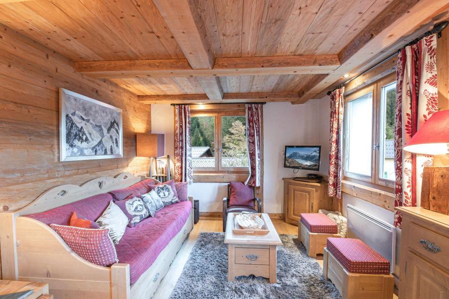 Urlaub in den Bergen 3-Zimmer-Appartment für 6 Personen - Hameau de la Blaitiere - Chamonix - Unterkunft