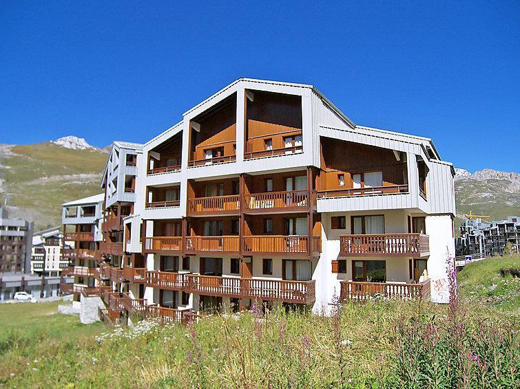 Holiday in mountain resort Hameau du Borsat - Tignes - Summer outside
