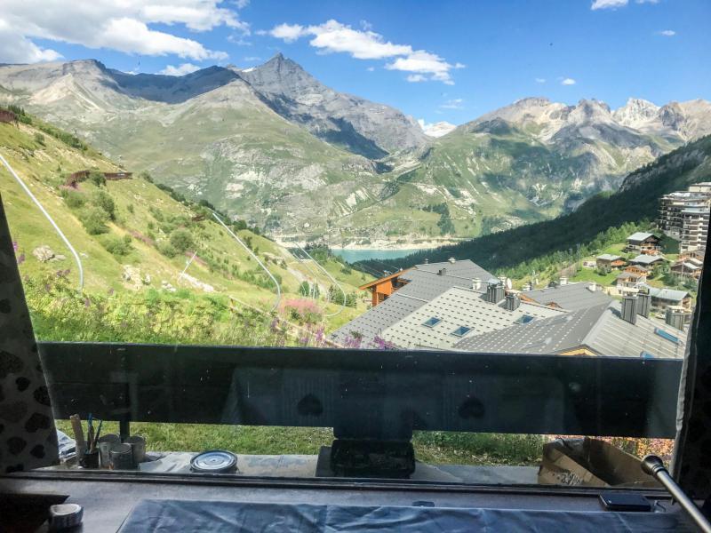 Каникулы в горах Апартаменты 2 комнат 5 чел. (1) - Horizon 2000 - Tignes - летом под открытым небом