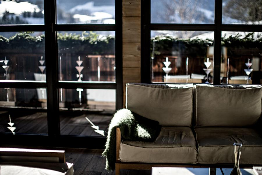 Vacaciones en montaña Hôtel Alpaga - Megève - Recepción
