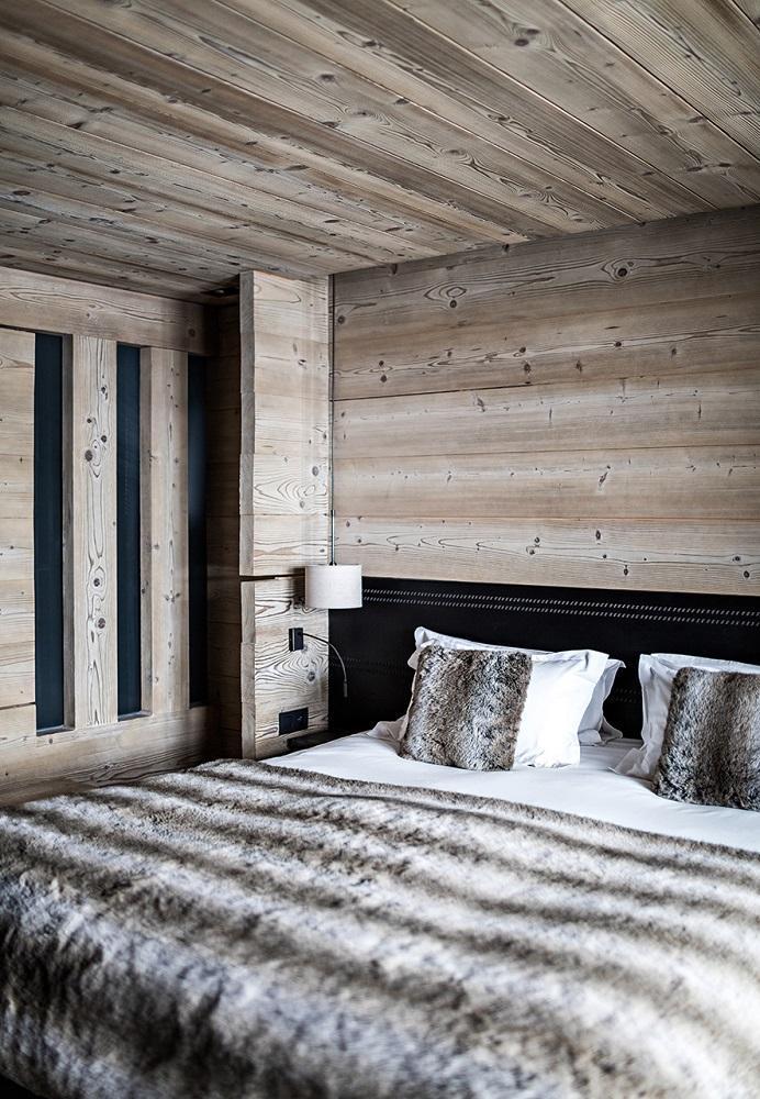 Vacaciones en montaña Hôtel Alpaga - Megève - Cama doble