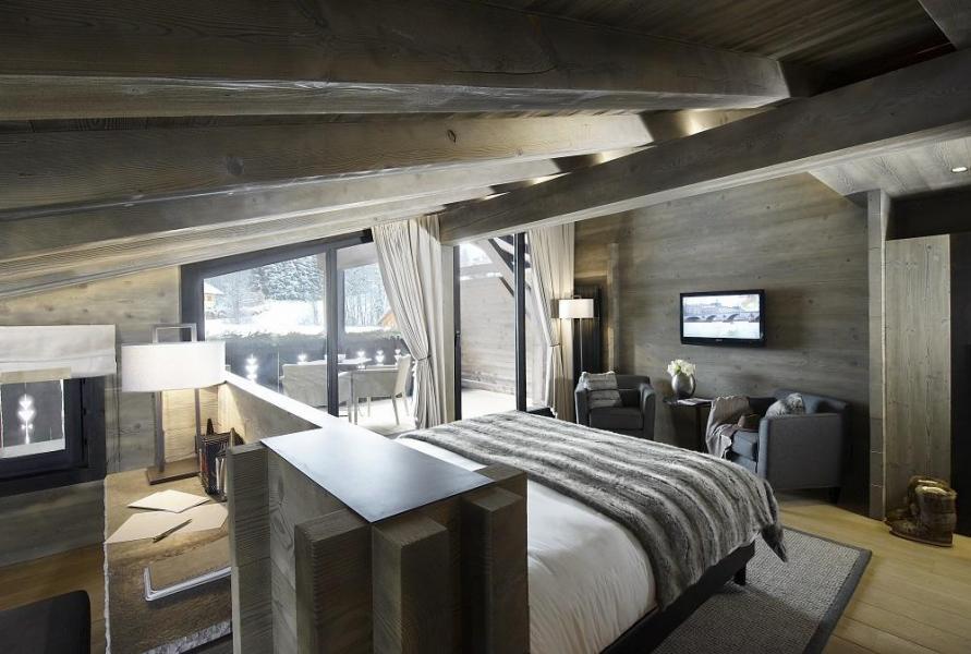 Vacaciones en montaña Hôtel Alpaga - Megève - Habitación