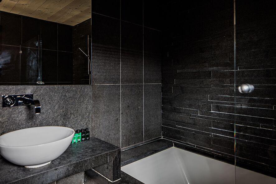 Vacaciones en montaña Habitación clásico - Hôtel Alpaga - Megève - Cuarto de baño