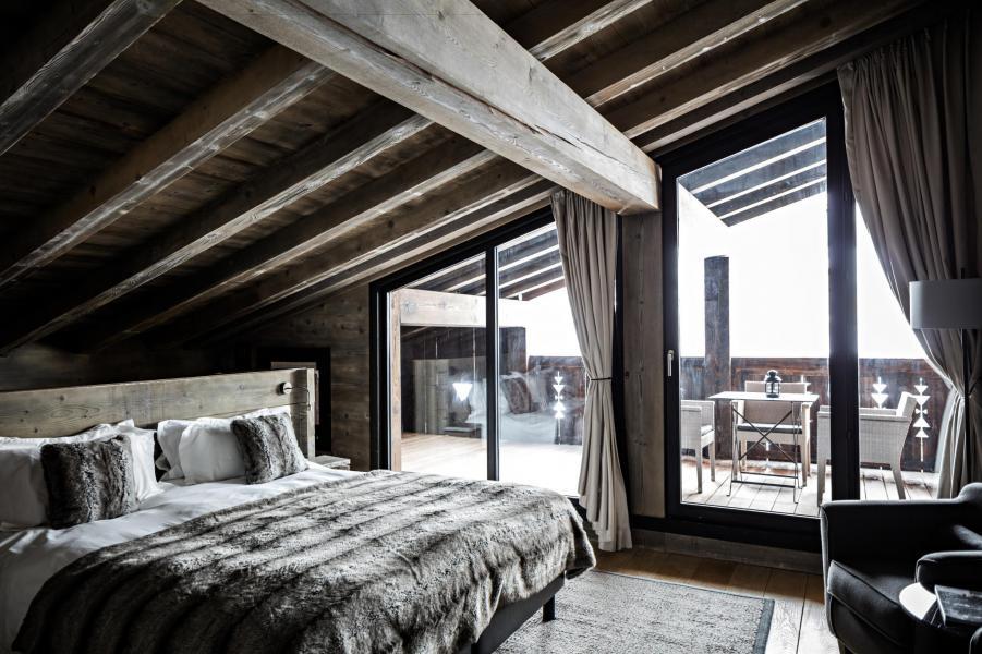 Vacaciones en montaña Habitación Prestigio - Hôtel Alpaga - Megève - Habitación
