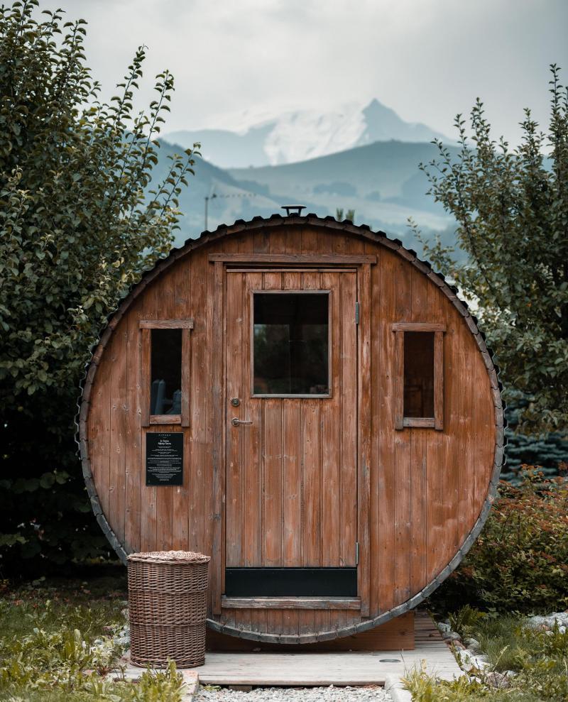 Vacaciones en montaña Hôtel Alpaga - Megève - Sauna