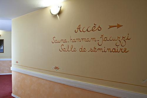 Holiday in mountain resort Hôtel Athéna - Brides Les Bains - Corridor