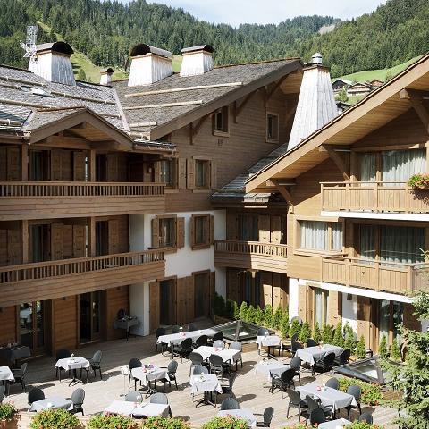 Vacaciones en montaña Hôtel Au Coeur du Village - La Clusaz - Plano