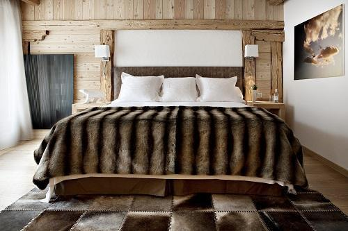 Holiday in mountain resort Privilege Suite (2 people) - Hôtel Au Coeur du Village - La Clusaz - Bedroom