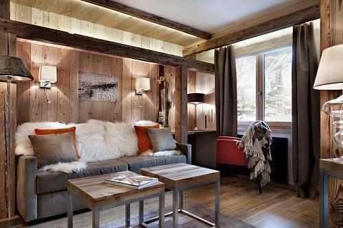Vacaciones en montaña Suite Privilegio (2 personas) - Hôtel Au Coeur du Village - La Clusaz - Habitación