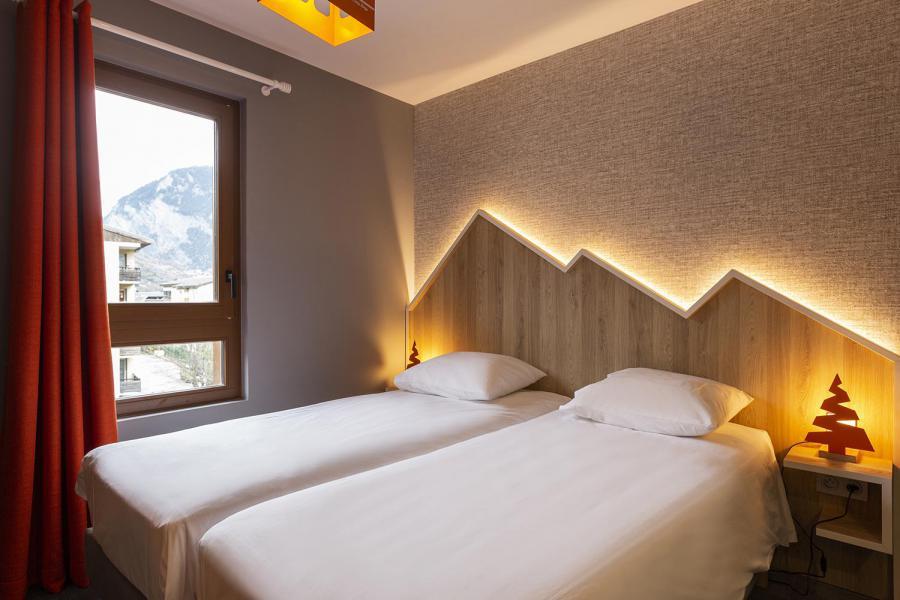 Vacaciones en montaña Hôtel Base Camp Lodge - Les Arcs - Camas twin