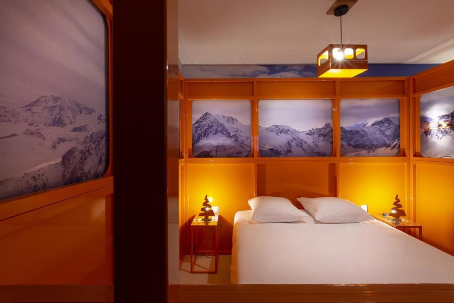 Vacaciones en montaña Habitación 2 personas (TELEPHERIQUE) - Hôtel Base Camp Lodge - Les Arcs - Cama doble