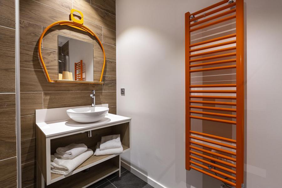 Vacaciones en montaña Habitación 2 personas (TELEPHERIQUE) - Hôtel Base Camp Lodge - Les Arcs - Cuarto de baño