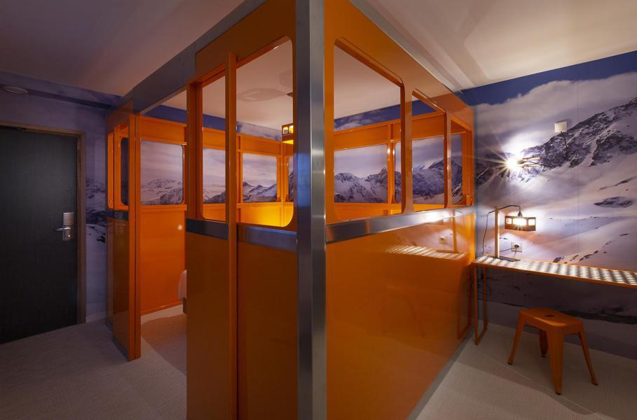 Vacaciones en montaña Habitación 2 personas (TELEPHERIQUE) - Hôtel Base Camp Lodge - Les Arcs - Habitación