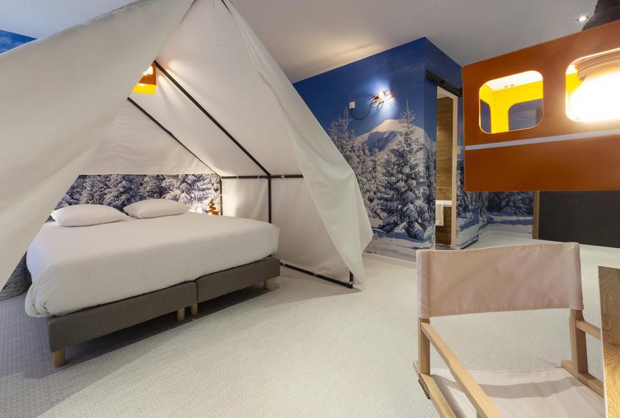 Vacaciones en montaña Habitación para 1-2 personas (TENTE) - Hôtel Base Camp Lodge - Les Arcs - Cama doble