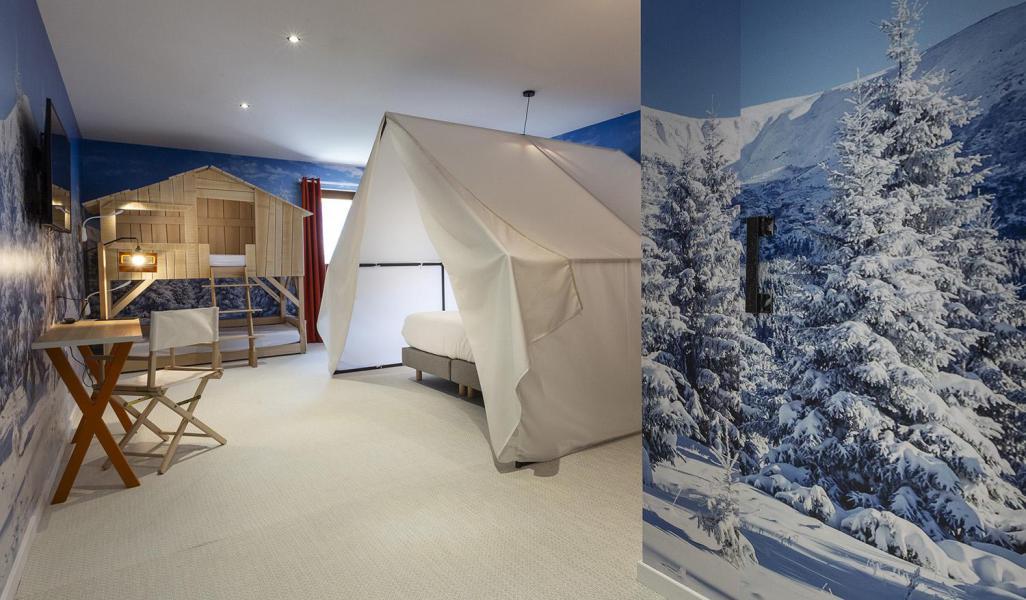 Wakacje w górach Pokój 1-1 osób (TENTE) - Hôtel Base Camp Lodge - Les Arcs - Pokój